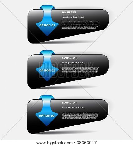 Presentation/option templates