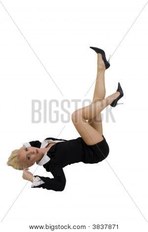 Mujer posando