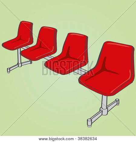 public chair vector