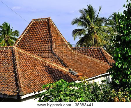 Traditional roof tiles