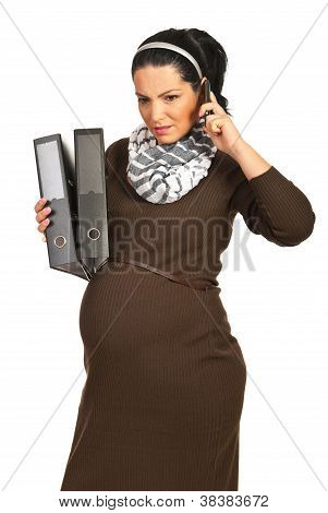 Pregnant  Receive Bad News By Phone