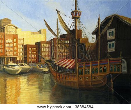 St Katherine Docks in London