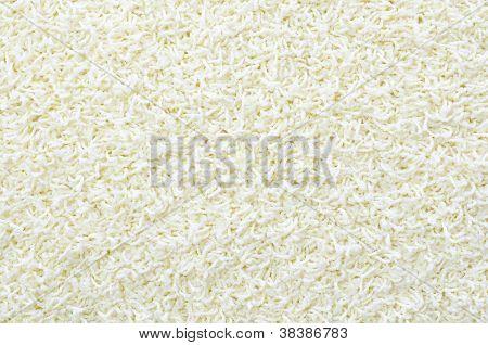 White Thick Carpet