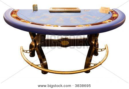 Blue Card-Table