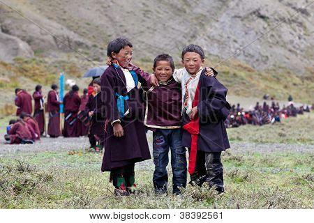 Tibetan Boys
