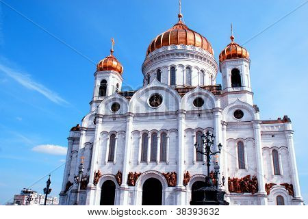 Christ The Savior Cathedral(Moscow, Russia)