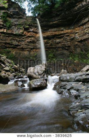Hardraw Force Water Fall North Yorkshire