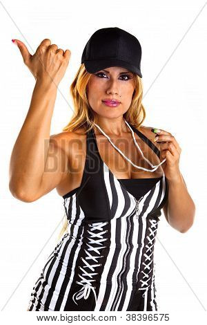 Sexy Referee Signals You are out