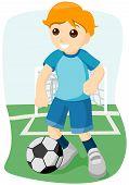 Постер, плакат: Футбол