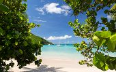 Glorious Beach At Anse Marcel On St Martin