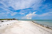 image of gulf mexico  - Beautiful Coastline on Anna Maria Island Florida - JPG