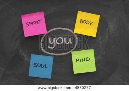 Body, Mind, Soul, Spirit And You