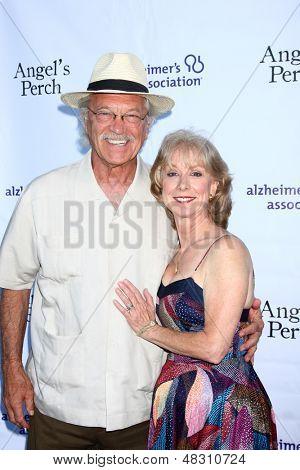 LOS ANGELES - JUL 17:  Mike Genovese, Ellen Crawford arrives at the