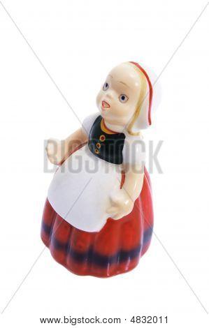 Milkmaid Figurine Souvenir