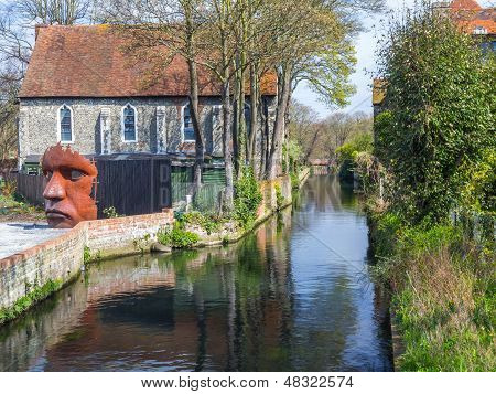 River Stour At Canterbury