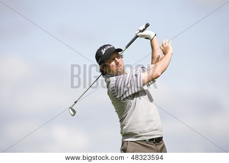 LOCH LOMOND, SCOTLAND - JUL 09 2009; Loch Lomond Scotland; Tim Clark (RSA) competing in the first round of the PGA European Tour Barclays Scottish Open golf tournament.