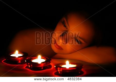 Lady And Candles
