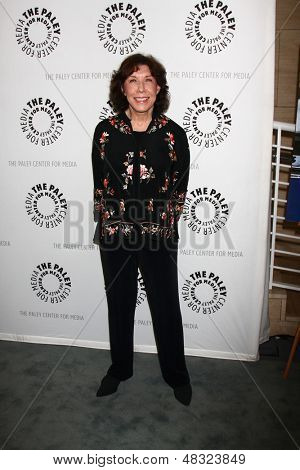 """LOS ANGELES - JUL 16:  Lily Tomlin arrives at  """"An Evening With Web Therapy: The Craze Continues..."""" at the Paley Center for Media on July 16, 2013 in Beverly Hills, CA"""