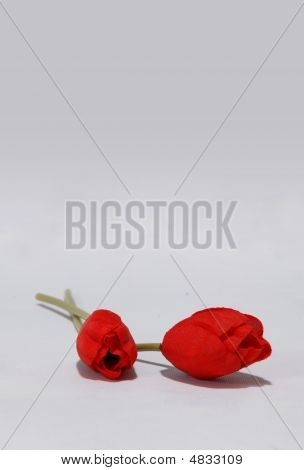 A Pair Ofl Red Roses
