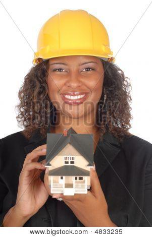 Female Architect Portrait