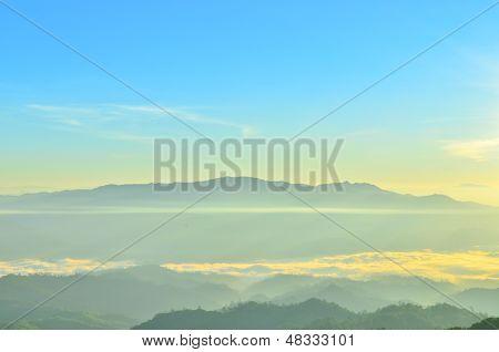 Beautiful Mountain At Huai Nam Dang