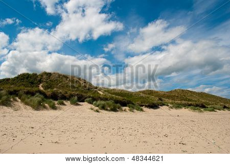 Brittas Bay. Wicklow Ireland.