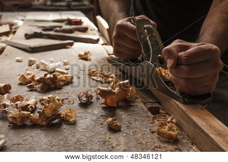 Carpenter Working
