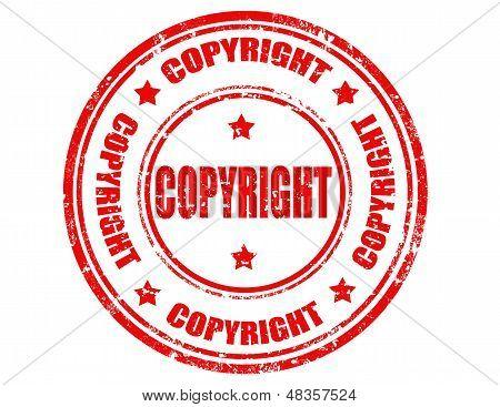 Copyright-stamp