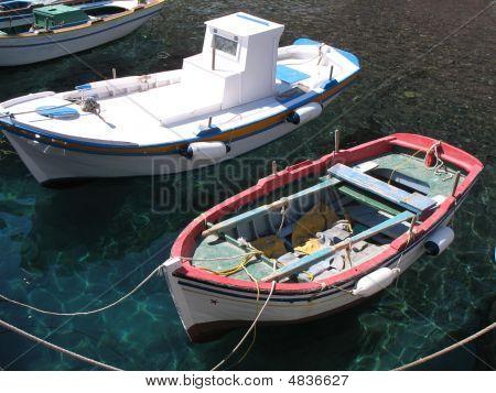 Santorini Row Boat