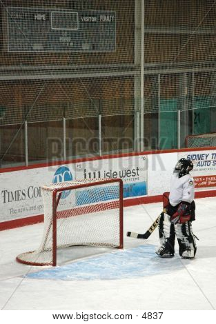 Woman Between The Pipes