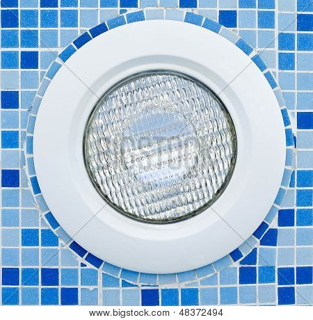 Water Proof Light In Swimming Pool