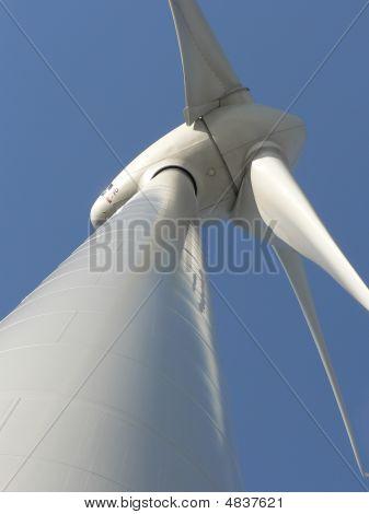 Estação de energia eólica