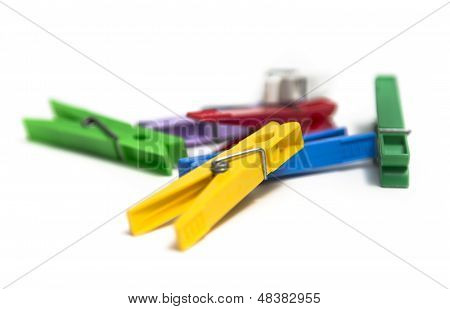 Colorful Clothespin.