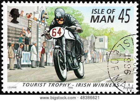 Motor Sport Stamp