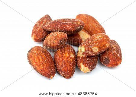 Almonds salt and baking