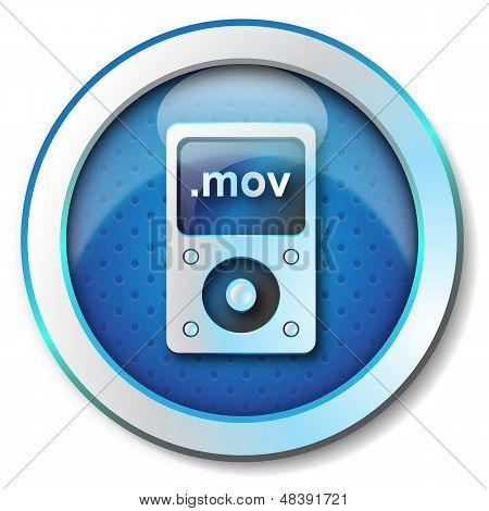Mov player icon