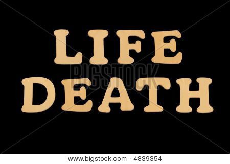 Wooden Word Lifedeath