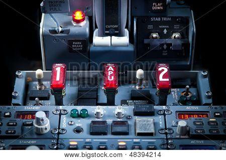 Aircraft Dashboard Panel