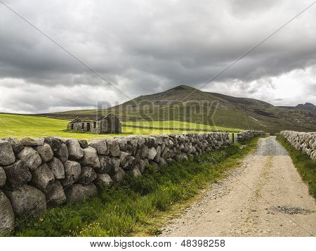 A Road To The Hills