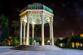 foto of shiraz  - Tomb of poet Hafez in Shiraz Iran - JPG