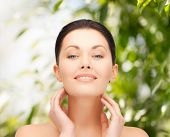 picture of cosmetology  - beauty and eco cosmetology concept  - JPG