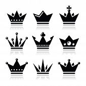 stock photo of crown jewels  - King - JPG