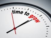 pic of count down  - An image of a nice clock with time to grow - JPG