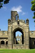 Kirkstall Abbey, Leeds, Uk