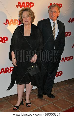Kathy Bates and Martin Sheen at AARP The Magazine's 2007 Movies For Grownups Awards. Hotel Bel-Air, Los Angeles, CA. 02-06-07