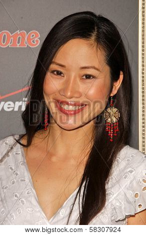 Shelly Zhu at the Verizon Rolling Stone Grammy Party. Avalon, Hollywood, CA. 02-09-07