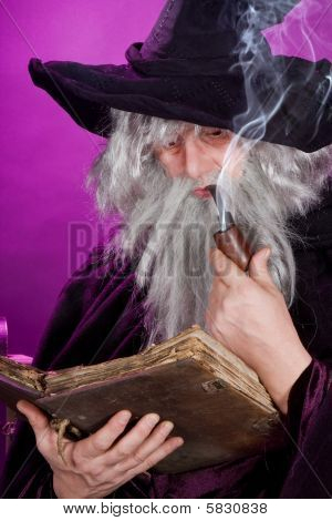 Sorcerer With Pipe