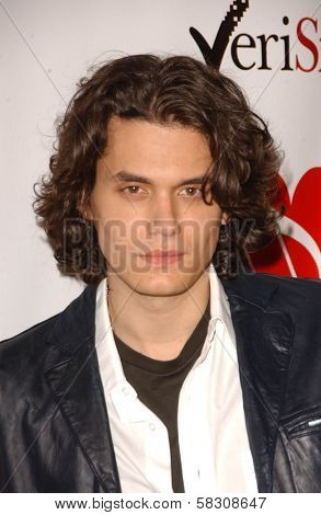John Mayer at the 2007 MusiCares Person of the Year Honoring Don Henley. Los Angeles Convention Center, Los Angeles, CA. 02-09-07