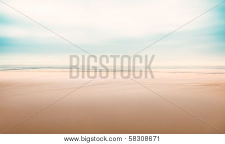 Minimalist Abstract Seascape