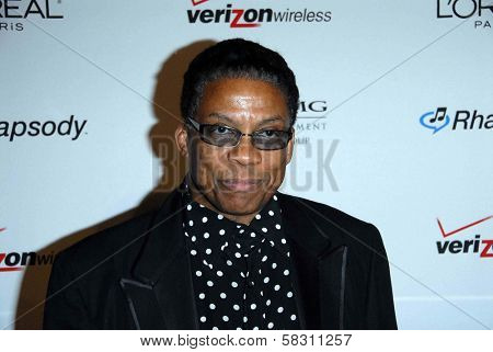 Herbie Hancock at the 2007 Clive Davis Pre-Grammy Awards Party. Beverly Hilton Hotel, Beverly Hills, CA. 02-10-07